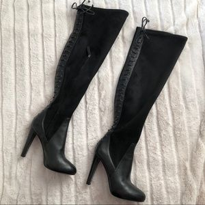 Nine West Thigh High Boots